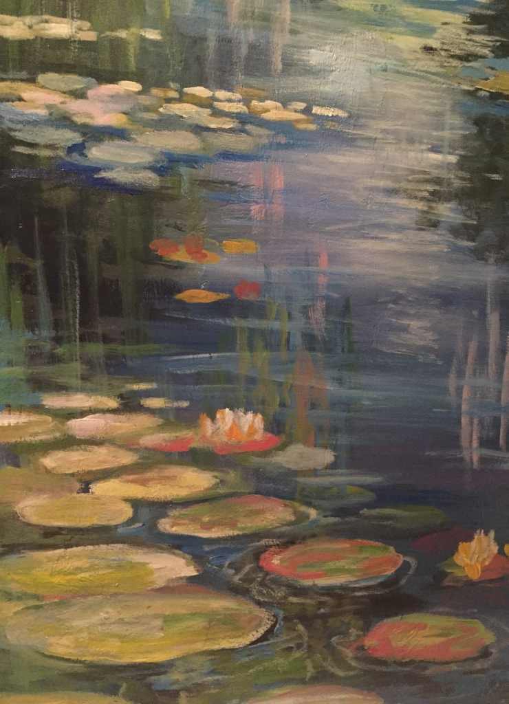A sample of Monet's waterlilies.